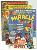Bronze Age (1970-1979):Miscellaneous, DC Bronze Age Group (DC, 1971-78). This group includes MisterMiracle #2 (VF/NM, Jack Kirby cover and art) and #3 (VF, K...(Total: 7 Comic Books Item)