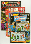 Silver Age (1956-1969):Miscellaneous, DC Superhero Group (1964-79) Condition: Average FN-. This 22-issuegroup lot of Silver and Bronze Age DC titles includes J... (Total:22 Comic Books Item)