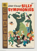Golden Age (1938-1955):Funny Animal, Dell Giant Comics Silly Symphonies #7 (Dell, 1957) Condition: VF-.The Reluctant Dragon, Ugly Duckling, Mickey Mouse, Peter ...