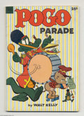Golden Age (1938-1955):Funny Animal, Dell Giant Comics Pogo Parade (Dell, 1953) Condition: FN+. WaltKelly art. Overstreet 2004 FN 6.0 value = $72; VF 8.0 value ...
