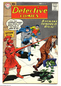 Silver Age (1956-1969):Superhero, Detective Comics #271 (DC, 1959) Condition: VG+. Curt Swan cover. Sheldon Moldoff art. Manhunter from Mars backup feature. O...