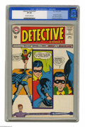 Silver Age (1956-1969):Superhero, Detective Comics #327 (DC, 1964) CGC VF 8.0 Off-white to white pages. Elongated Man begins. New costume for Batman. Carmine ...