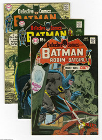 Detective Comics #401-405 Group (DC, 1970) Condition: Average VF. Included in this lot are issues #401, 402, 403, 404 (E...