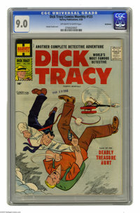 Dick Tracy Comics Monthly #123 Bethlehem pedigree (Harvey, 1958) CGC VF/NM 9.0 Off-white to white pages. Chester Gould c...