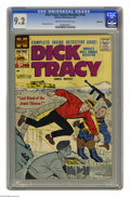 Silver Age (1956-1969):Mystery, Dick Tracy Comics Monthly #134 Bethlehem pedigree (Harvey, 1959)CGC NM- 9.2 Cream to off-white pages. Chester Gould cover. ...