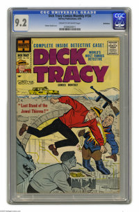 Dick Tracy Comics Monthly #134 Bethlehem pedigree (Harvey, 1959) CGC NM- 9.2 Cream to off-white pages. Chester Gould cov...