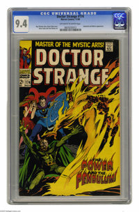 Doctor Strange #174 (Marvel, 1968) CGC NM 9.4 Off-white to white pages. Satannish and Nekron appearance. Gene Colan cove...