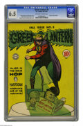 """Silver Age (1956-1969):Superhero, Green Lantern #8 (DC, 1961) CGC FN+ 6.5 Off-white to white pages. Overstreet designates this as a """"classic cover"""". Hop Harri..."""
