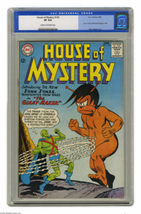 House of Mystery #143 (DC, 1964) CGC VF 8.0 Cream to off-white pages. J'onn J'onzz, Manhunter begins in this title. Intr...