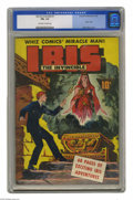 Golden Age (1938-1955):Superhero, The Invincible Ibis #1 (Fawcett, 1943) CGC FN+ 6.5 Off-white to white pages. From the pages of Whiz Comics comes Ibis, t...