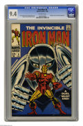 Silver Age (1956-1969):Superhero, Iron Man #8 (Marvel, 1968) CGC NM 9.4 Off-white pages. Gladiator and Count Nefaria appearance. George Tuska cover. Tuska and...