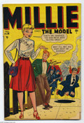 """Golden Age (1938-1955):Humor, Millie the Model #14 (Marvel, 1948) Condition: GD. """"Hey Look"""" backup feature by Harvey Kurtzman. Overstreet 2004 GD 2.0 valu..."""