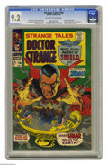 Silver Age (1956-1969):Horror, Strange Tales #156 (Marvel, 1967) CGC NM- 9.2 Off-white to whitepages. First appearance of Zom. Cameos of Spider-Man, Fanta...