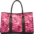 """Luxury Accessories:Bags, Hermès Customized Pink Camouflage Garden Party MM Bag. H Square, 2004. Condition: 3. 14"""" Width x 10"""" Height x 6"""" D..."""