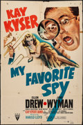 """Movie Posters:Comedy, My Favorite Spy (RKO, 1942). Folded, Fine. One Sheet (27"""" X 41""""), Title Card & Lobby Cards (14) (11"""" X 14""""). Comedy.. ... (Total: 16 Items)"""