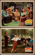 "Movie Posters:Musical, If I'm Lucky & Other Lot (20th Century Fox, 1946). Very Fine-.Lobby Cards (2) (11"" X 14""). Musical.. ... (Total: 2 Items)"