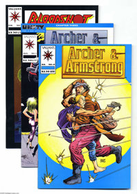 Valiant Miscellaneous Group (Valiant, 1992-93) Condition: Average NM-. A copy of Harbinger #0 is the highlight of this g...