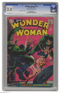 """Silver Age (1956-1969):Superhero, Wonder Woman #172 (DC, 1967) CGC GD 2.0 Cream to off-white pages. Irv Novick cover and art. CGC notes, """"From the collection ..."""