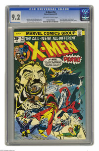 X-Men #94 (Marvel, 1975) CGC NM- 9.2 Off-white to white pages. Debut of the new X-Men in this series. Second appearance...