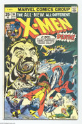 Bronze Age (1970-1979):Superhero, X-Men #94 (Marvel, 1975) Condition: FN+. Debut of the new X-Men in this series. Second appearance of Colossus, Nightcrawler,...