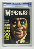 Silver Age (1956-1969):Horror, Famous Monsters of Filmland #20 (Warren, 1962) CGC FN+ 6.5Off-white pages. John Carradine and Ray Harryhausen biographiesa...