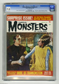"Silver Age (1956-1969):Horror, Famous Monsters of Filmland #21 (Warren, 1963) CGC FN/VF 7.0Off-white pages. Photo cover. ""Bride of Frankenstein"" filmbook...."
