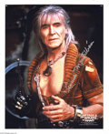 """Memorabilia:Science Fiction, William Shatner and Ricardo Montalban Autographed Photos (undated). From the classic """"Star Trek II: The Wrath of Khan,"""" here..."""