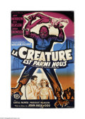 Movie Posters:Science Fiction, The Creature Walks Among Us (Universal, 1956)....