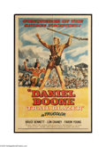 Movie Posters:Adventure, Daniel Boone, Trail Blazer (Republic, 1956)....