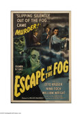 Movie Posters:Film Noir, Escape in the Fog (Columbia, 1945)....