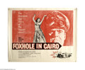 Movie Posters:War, Foxhole in Cairo (Paramount, 1961)....