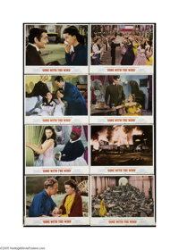 Gone With the Wind (MGM, R-1968).... (8 items)