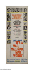 Movie Posters:Comedy, It's a Mad , Mad, Mad, Mad World (United Artists, 1963)....