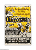 Movie Posters:Documentary, The Outdoorsman (Wab Productions, 1969)....