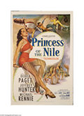 Movie Posters:Swashbuckler, Princess of the Nile (20th Century Fox, 1954)....