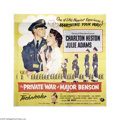 Movie Posters:Comedy, The Private War of Major Benson (Universal International, 1955)....