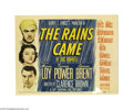 Movie Posters:Adventure, The Rains Came (20th Century Fox, 1939).... (3 items)