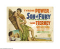 Movie Posters:Adventure, Son of Fury (20th Century Fox, 1942)....