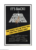 Movie Posters:Science Fiction, Star Wars (20th Century Fox, R-1981)....