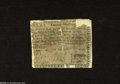 Colonial Notes:North Carolina, North Carolina May 4, 1758 20s Fine, Damaged. A very rare ...