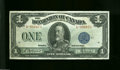 Canadian Currency: , DC-25c $1 1923...