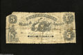 Confederate Notes:1861 Issues, T11 $5 1861....