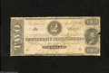 Confederate Notes:1863 Issues, T61 $2 1863....