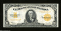 Large Size:Gold Certificates, Fr. 1173 $10 1922 Gold Certificate Choice Crisp Uncirculated....