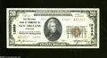 National Bank Notes:Louisiana, New Orleans, LA - $20 1929 Ty. 2 The NB of Commerce Ch....