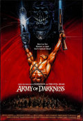 "Movie Posters:Horror, Army of Darkness & Other Lot (Universal, 1992). Rolled, Very Fine-. International One Sheet (27"" X 39.5"") & One Sheet (27"" X... (Total: 2 Items)"