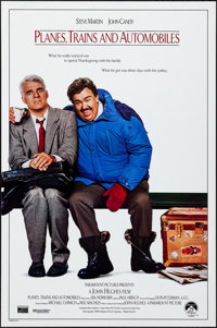 """Planes, Trains and Automobiles (Paramount, 1987). Rolled, Very Fine. One Sheet (27"""" X 41"""") SS. Comedy"""