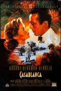 "Movie Posters:Academy Award Winners, Casablanca (MGM/UA Home Video, R-1992). Rolled, Very Fine-. 50th Anniversary Video Poster (24"" X 36"") C. M. Dudash Artwork. ..."