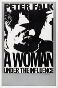 Movie Posters:Drama, A Woman Under the Influence (Independent, 1974). Folded, V...