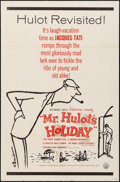 "Movie Posters:Foreign, Mr. Hulot's Holiday (Continental, R-1960s). Folded, Very Fine-. One Sheet (27"" X 41"") Abe Birnbaum Artwork. Foreign.. ..."